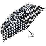 Auto Open and Close, Self Closing, Tiny Mini Umbrella - by London Fog - Blue