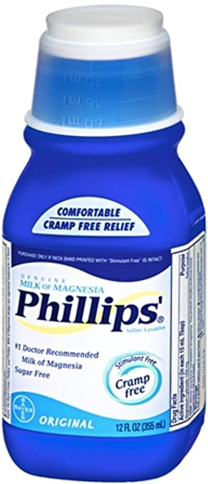 Phillips Milk of Magnesia Original 12 oz (Pack of ...