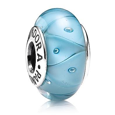 pandora charms murano bleu