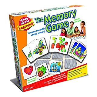 Small World Toys Learning - The Memory Game - Improve Kids' Visual and Spacial Memory (9722070)