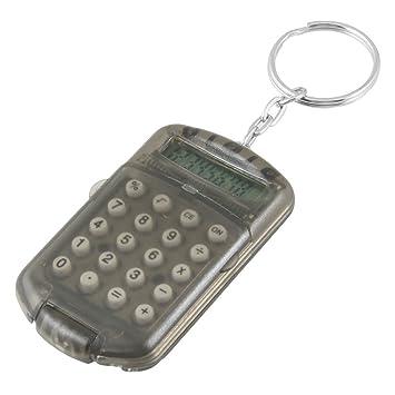 Kunststoffgeh/äuse Winkey Schl/üsselring elektronischer Mini-Taschenrechner 8 Ziffern