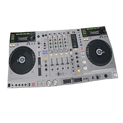Toalla de playa de secado rápido Reproductor de disco creativo de la música 3D DJ,