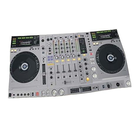 Toalla de playa de secado rápido Reproductor de disco creativo de la música 3D DJ, ...
