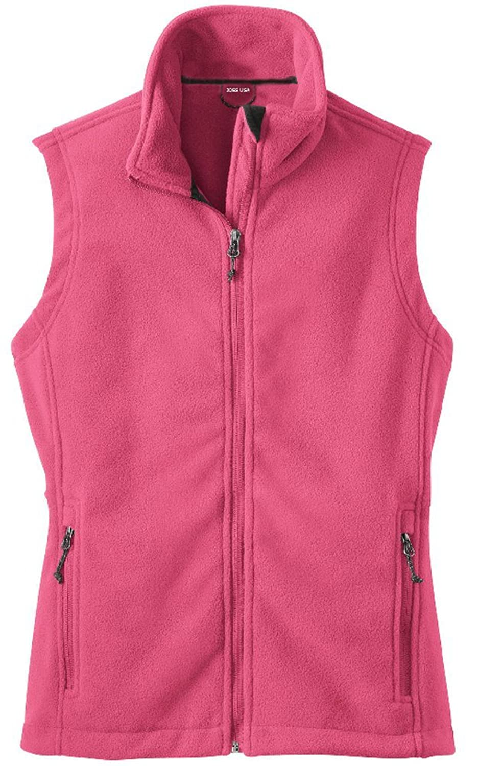 6eac568ea9dc Womens Soft and Cozy Fleece Vests in 8 Colors  Sizes XS-4XL durable service
