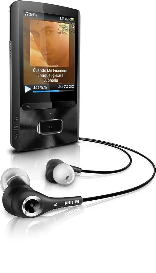 amazon com philips gogear ariaz 8 gb mp3 player home audio theater rh amazon com Philips GoGear 8GB Charger Philips GoGear 8GB Charger