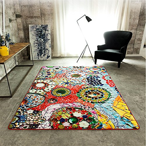 Lelva Modern Sofa Mats Multicolor Creative Bohemian Decor