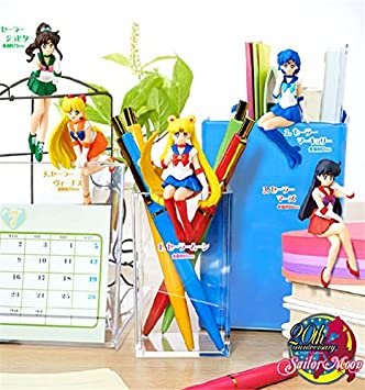Sailor Moon Tea Cup Decorations Figures Toys 5pcs/set Sailor Moon + Jupiter + Venus