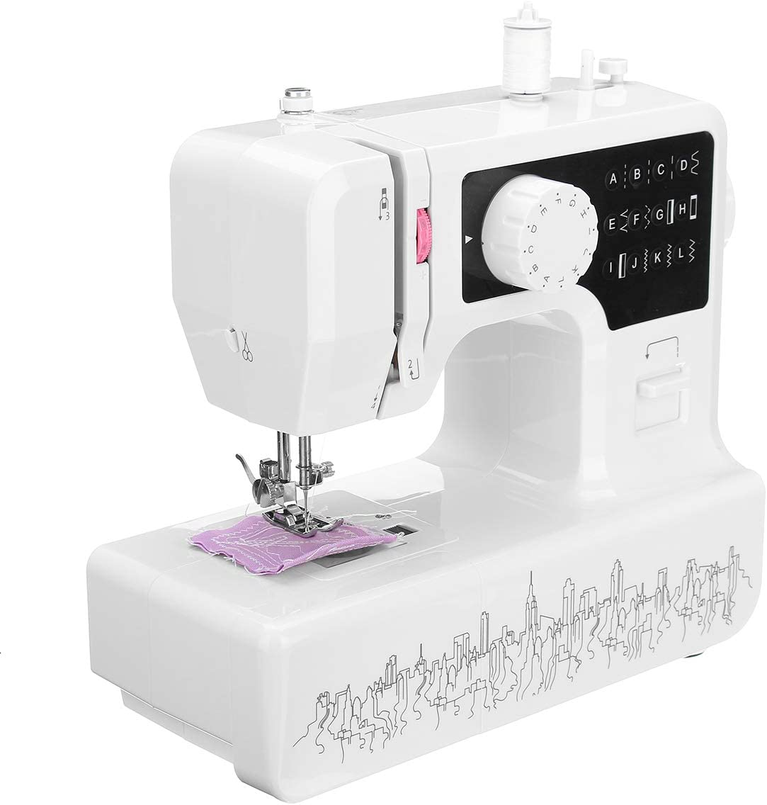 LEXPON Electric Sewing Machine Household Heavy Duty Easy Operation Durable Great for DIY Sewing Project Professional and Beginner Friendly