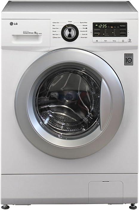LG F 1496 TDA 1H lavadora 8 kg accionamiento directo, a + + + ...