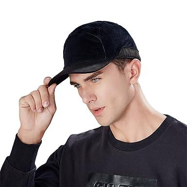 f4d01ec759468e Kenmont Men's Fall Winter Trooper Ear Flap Cap Warm Cotton Baseball Cap  Outdoor Fleece Ball Hat
