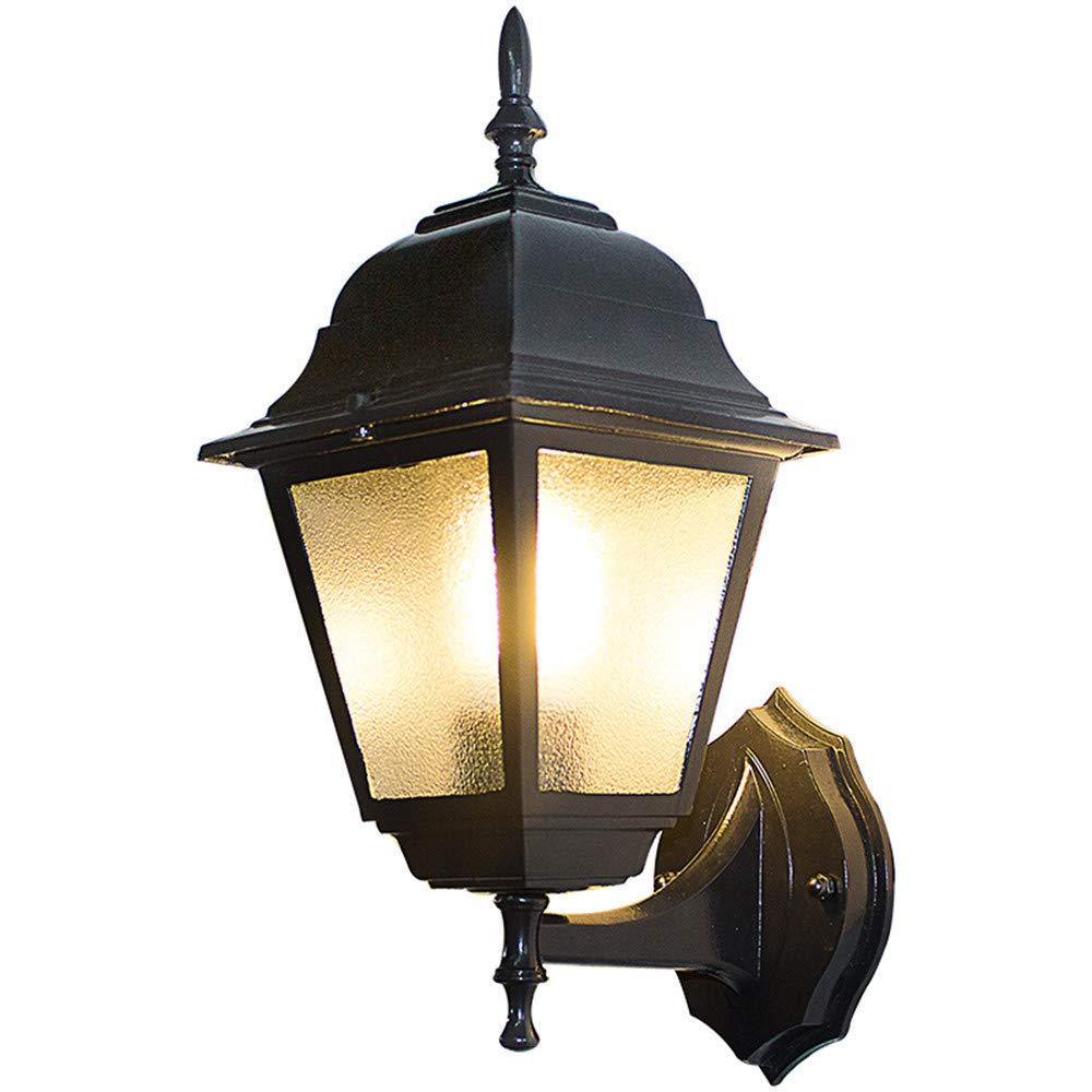 HRCxue Lampade da parete Lampada da parete per esterni da esterno con lampada da parete per esterni resistente alla corrosione