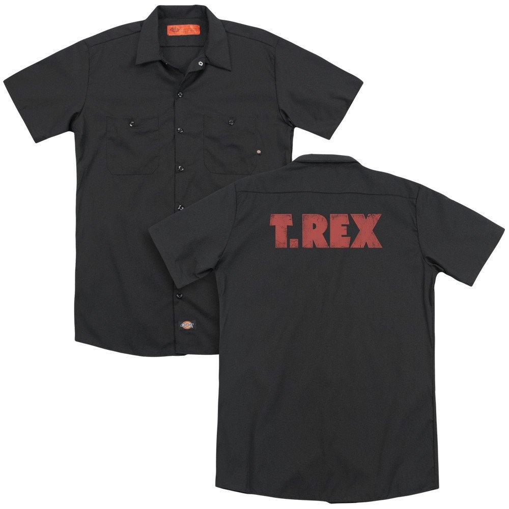 T Rex Logo Adult Work Shirt