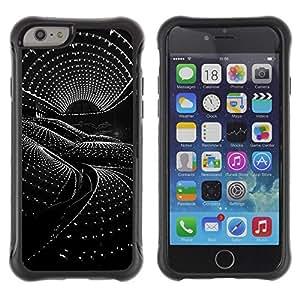 "Hypernova Defender Series TPU protection Cas Case Coque pour Apple Iphone 6 PLUS 5.5 [Arquitectura Ciencia Ficción Nave extranjera""]"