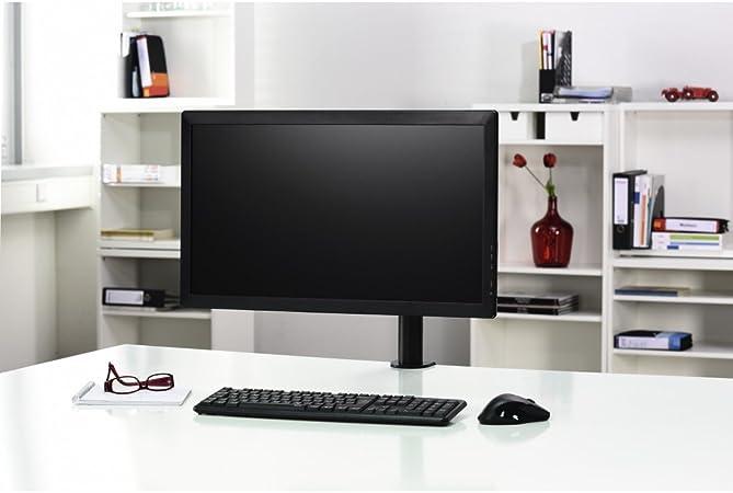 Hama Monitor Halterung Home Office Monitorständer 10 26 Zoll Monitorhalterung 360 Schwenkbar Neigbar Drehbar Bildschirm Tischhalterung
