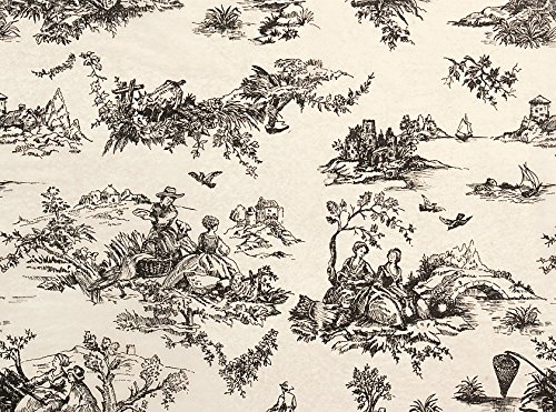 Black Toile Print Tissue Paper 15