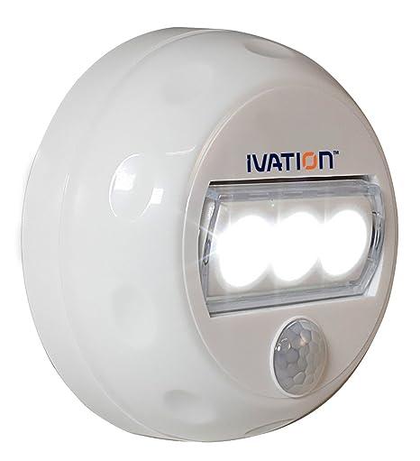 Luz de noche direccional de 3 LED con detección de movimiento automática Hipe: Amazon.es: Electrónica