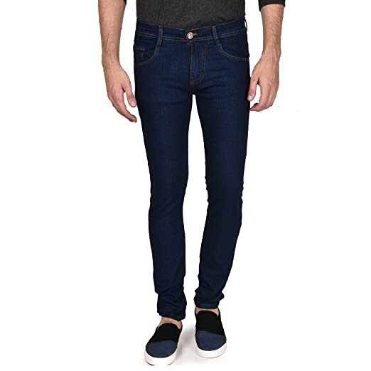 36ca12e3ccd95 Routeen Slim Men s Light Blue Jeans Best Price in India