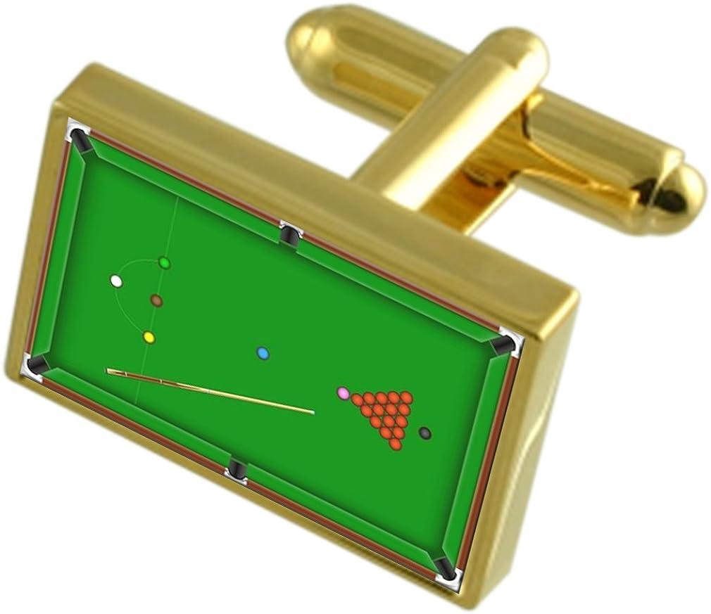 Select Gifts Mesa de Billar Gole Tonos Clip de Corbata Gemelos Box ...