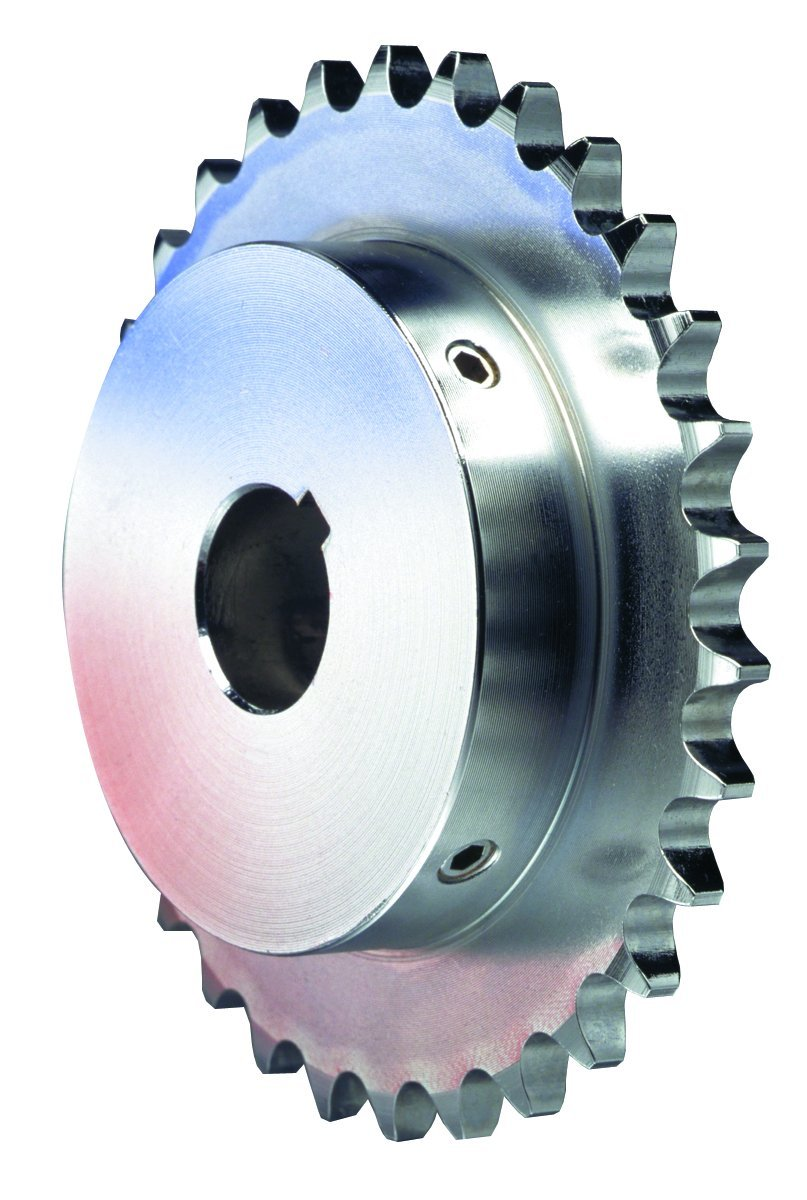 Single Strand Steel Browning H5024X 1 1//2 Finished Bore Roller Chain Sprocket 24 Teeth Regal Hardened Teeth