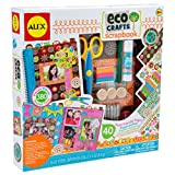 ALEX Toys - Scrapbooking Kit: My Eco Crafts Scrapbook Set - Includes 40 Page Scrapbook and Over 380 Pieces