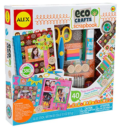 Colored Scrapbook Kit - ALEX Toys Craft Eco Crafts Scrapbook