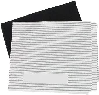 Kit universal de filtros de grasa y carbón para campana extractora de cocina - 3 unidades: Amazon.es: Grandes electrodomésticos