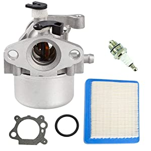 799866 Carburetor for Briggs and Stratton 796707 799871 794304 790845 12H800 Engine Toro Craftsman Lawn Mower By TOPEMAI