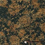 "2""x2"" Baltic Brown from Finland color sample natural granite . Used for granite kitchen or bathroom countertops or tile ."