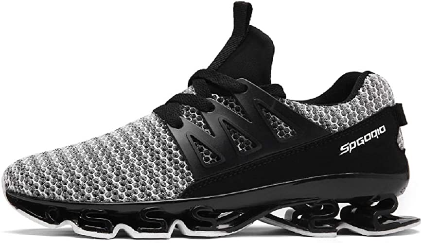 Fashion Mens Running Sneakers-Ultra Lightweight Breathable Mesh Street Walking Shoes