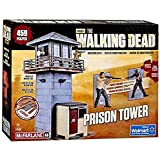 McFarlane Toys The Walking Dead Prison Tower Building Set – AMC TV Series - Fun to Assemble – A Centerpiece to Your Collection