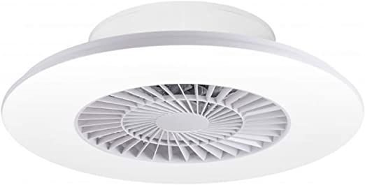 Ventilador Plafón LED de techo RICH Sulion color Blanco 880RPM 34W ...