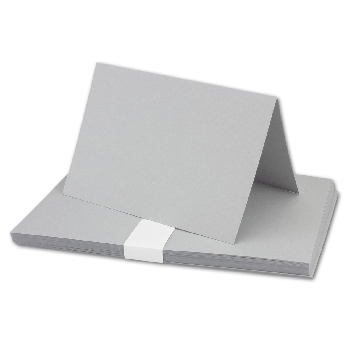 250x Falt-Karten DIN A6 Blanko Doppel-Karten in Hochweiß Kristallweiß -10,5 x 14,8 cm   Premium Qualität   FarbenFroh® B079VGM9SZ | Üppiges Design