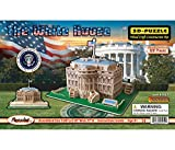 models of white house - 3D Natural Wood Puzzle - The White House