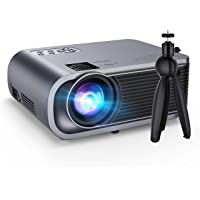 VicTsing Mini Projector with Noise Reduction and Hi-Fi Sound (Black)