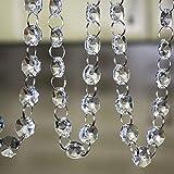 SKY CANDYBAR Crystal Clear Acrylic Bead Garland