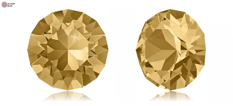 PP24 (3.00  3.20 mm) Swarovski Crystals 1164739 Round Stones 1088 SS 34 LIGHT COLORADO TOPAZ F, 144 Pieces