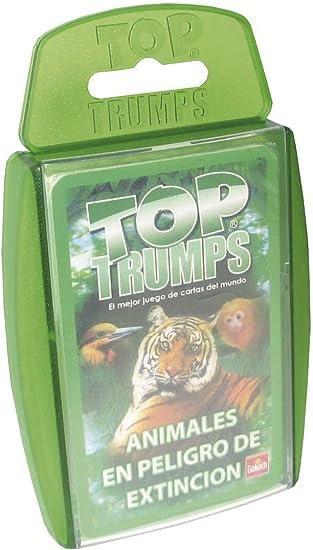 Goliath - Top Trumps Animales en Peligro, Juego de Mesa (70655): Amazon.es: Juguetes y juegos