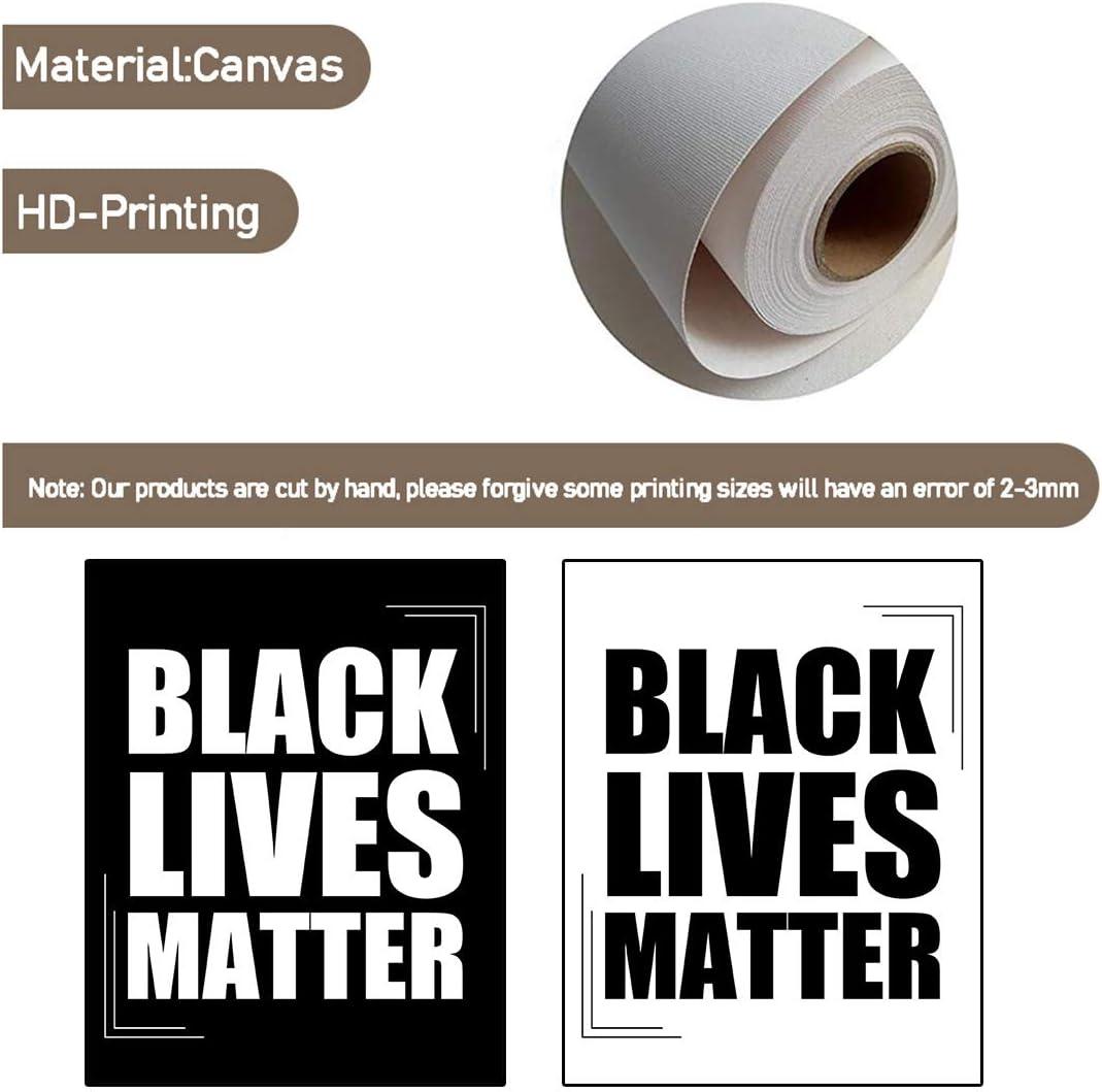 Black Culture Dripping Melanin High Quality Wall Art Wall Decor BLM Art BLM Gifts Black Love Black is Beautiful Premium Canvas Wrap