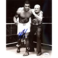 $69 Get Mike Tyson Autographed 8x10 Photo With Cus D'Amato JSA Stock #123808