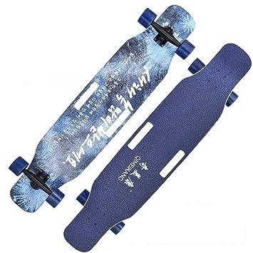JIN Skateboard portátil Principiantes Habilidades en la Calle ...