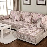 European Style Sofa Pad/Fabric Seat Cushion /Four Seasons Common Sofa Towel/Anti-skidding ,Living Room,Wood Sofa Towel-G