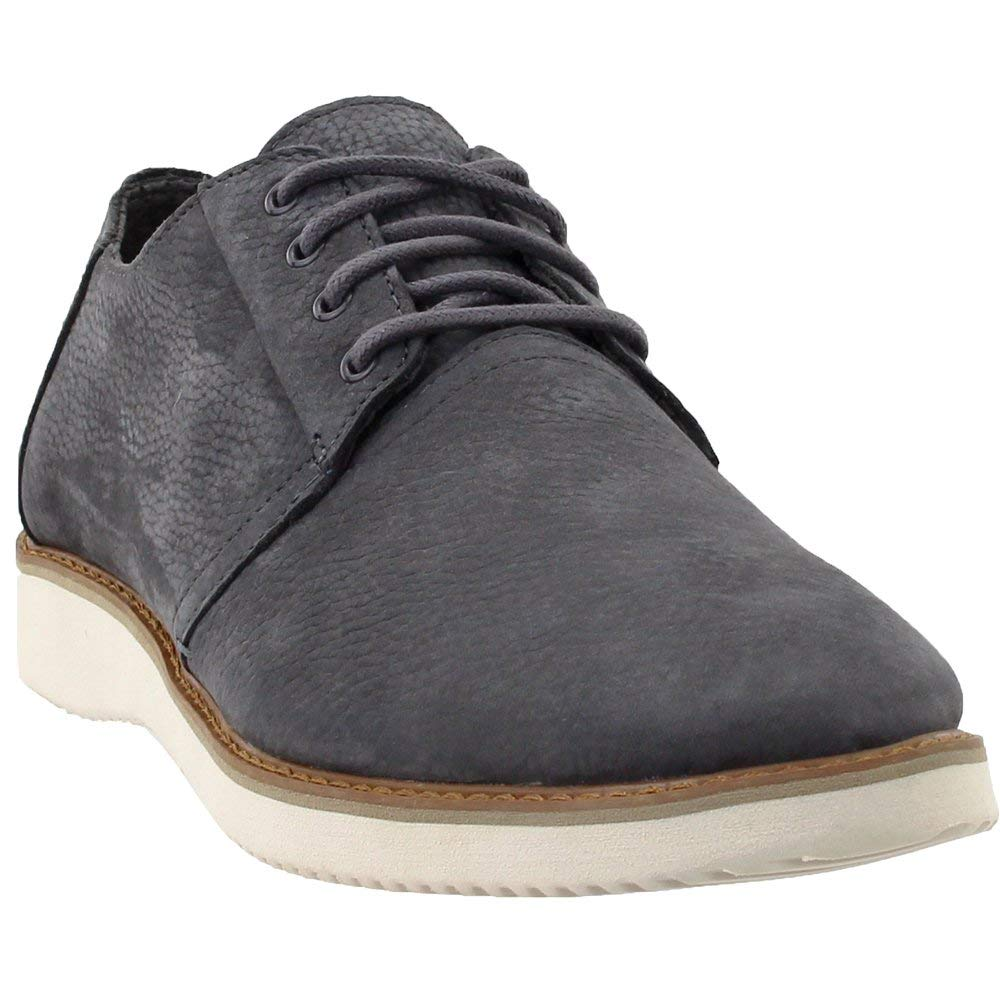 TOMS Forged Iron Grey Nubuck Men's Preston Dress Shoes (11)