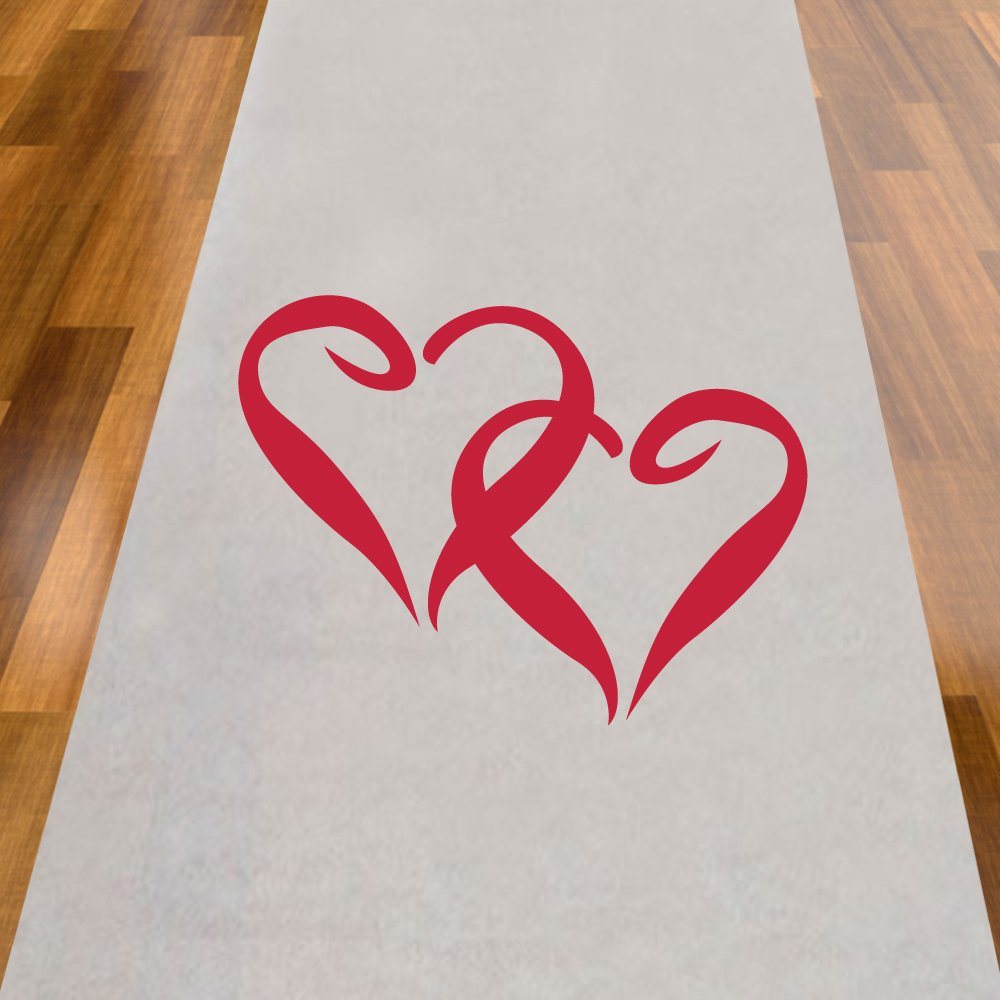 Two Hearts Aisle Runner