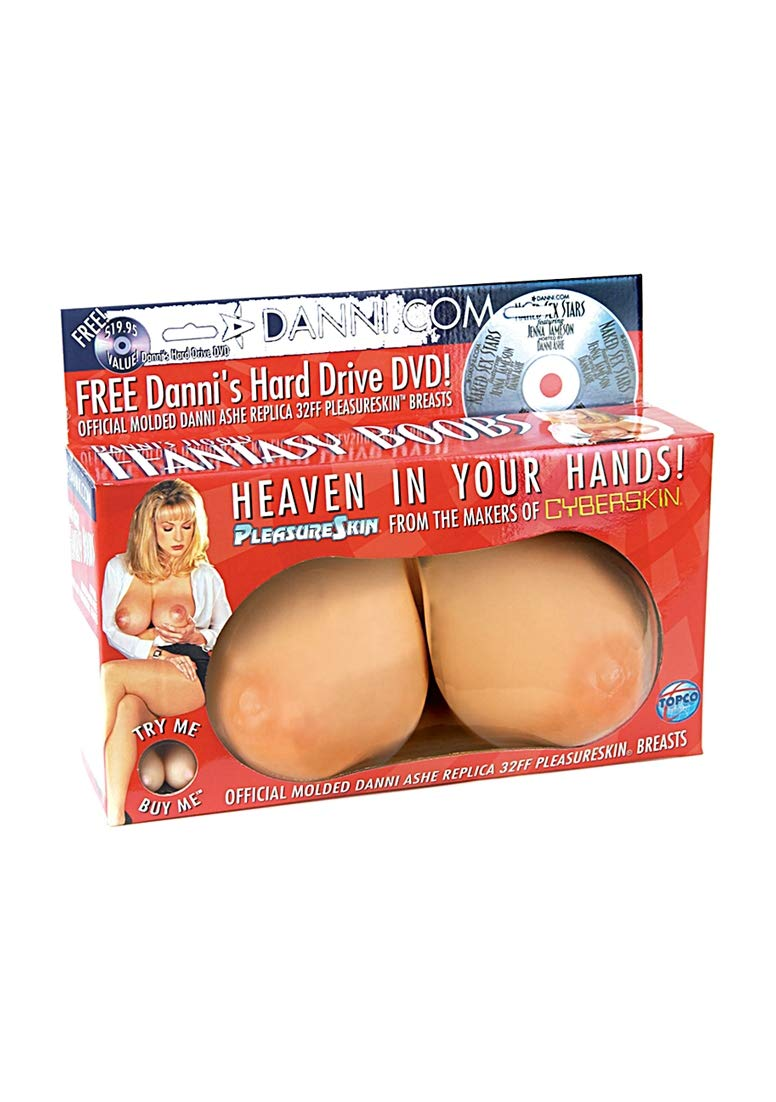 Replica breast sex toy