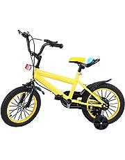 MuGuang 14 Pulgadas Bicicleta Infantil Estudio Aprendizaje Montar a Caballo Bicicleta niños niñas Bicicleta con ruedines