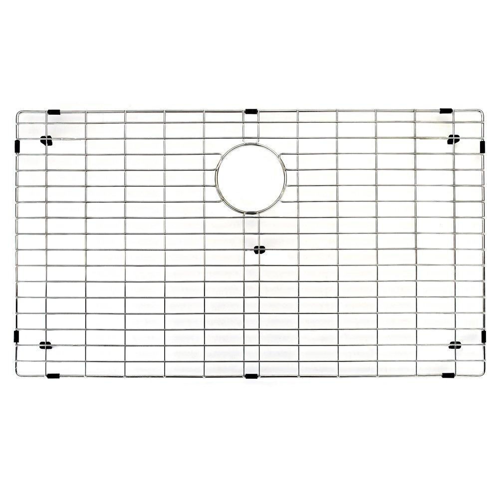 VIGO Stainless Steel Bottom Grid, 30.75-in. x 17.75-in. by VIGO