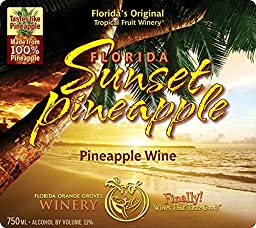 Florida Sunset Pineapple - Pineapple Fruit Wine