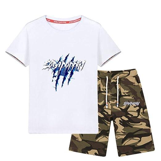 LF Pack De 1 Niño Camisetas,Camiseta De Manga Corta Carta ...