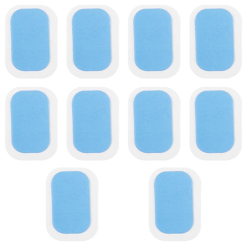YMCHE 10/pcs de Remplacement de Gel Abdominale Gel Autocollant ABS Trainer Exercice Patch Sticky Coussinets en Gel Stickers /à abdominaux