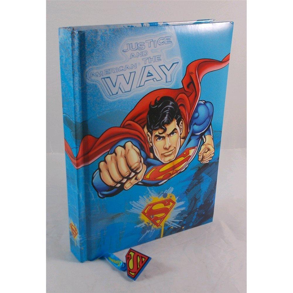Diario Standard 12M Azzurro Superman